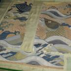 Ткань конца XVII века. Китай из собрания Великоустюгского музея-заповедника