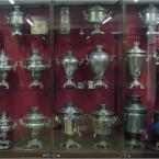 Самовары из музея Великого Устюга