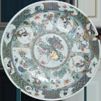 Блюдо XVII век. Китай. Фарфор. Из собрания Великоустюгского музея-заповедника