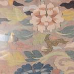 Кусок китайской ткани из собрания Великоустюгского музея